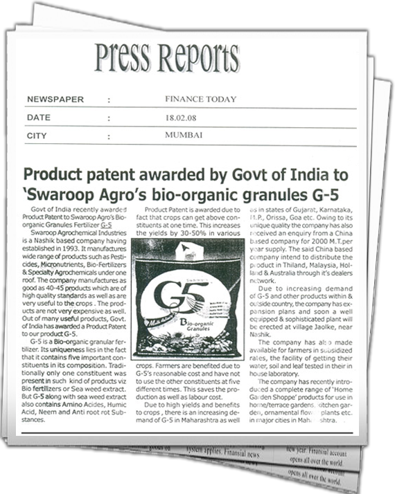 Product Patent